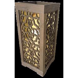 Coluna Belzer Acrílico Dourado