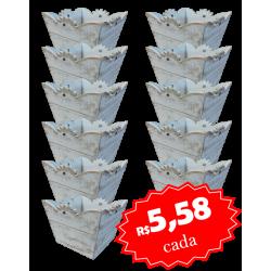Cachepo Flortes Caixa com 12