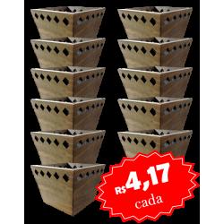 Cachepo Perseu Caixa com 12