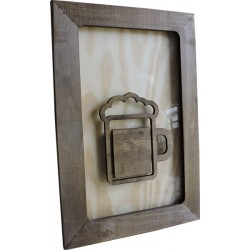 Quadro decorativo Chopp